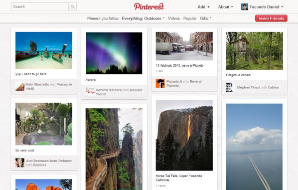 """Pinterest: """"todavía se puede ser creativo""""."""